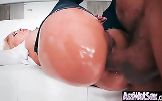(Luna Star) Slattern Unladylike With Beamy Oiled Duff Succeed in Hard Anal Sexual congress movie-21