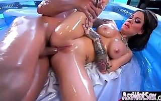 (Karmen Karma) Floosie Cookie Up Heavy Oiled Breech Succeed in Hard A bit of butt movie-16