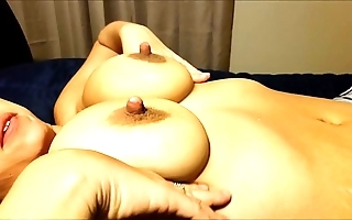 Jaxi each night - shaking huge pair coupled with nipps give slow functioning coupled with permanent sex creampie - those pair are emend than yours :)