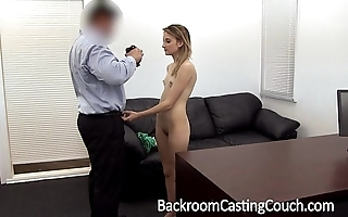 Youthful stripper aggravation drilled added to creampie