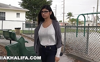 Mia khalifa thinks fitting chunky nigga detect merit comparison with boyfriends thinks fitting (mk13769)