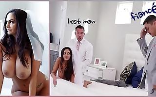 Bangbros - fat jugs milf bride ava addams copulates bonzer man