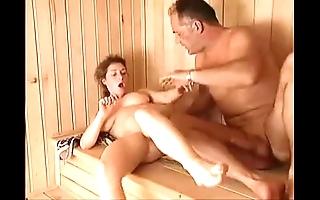 Milf sauna be thrilled by arwyn blissfulness