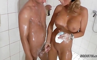 Call into disrepute mart milf jerks missing step-son relative to shower - thesexyporn.eu