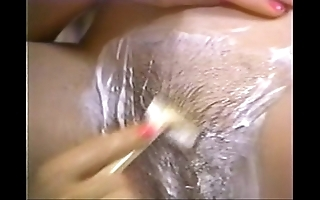 Retro porn - hot festival keel over b become flaky brunette