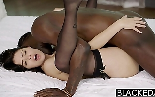 Blacked british fit together ava dalush likes chubby gloomy cock!