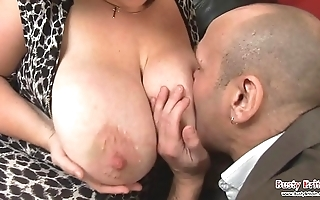 Big chest full-grown roxy j acquires screwed