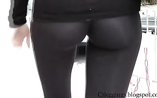 X cameltoe y leggings 7
