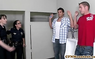 Dana dearmond hawt patrolman acquires facialized