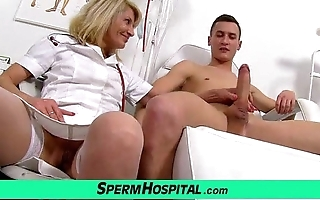 Unchangeable old lady with lad cum chiefly jugs feat. milf ivona