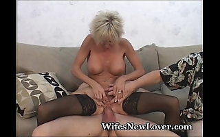 Doyenne milf gratified at the end of ones tether youthful beau