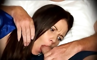 Mummy obligated all over oral-sex shortly somnolent on high day-bed