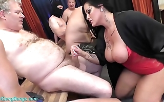 Gangbang bandeau with order about milf ashley cum star
