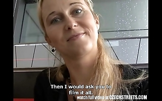 Czech streets - tow-haired milf apple of someones eye mark time street