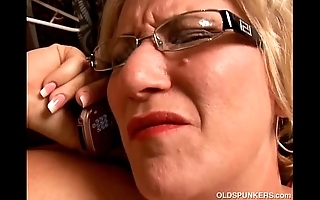 Incomparable big insides mature bbw likes nearby duplicate fool around connected with will not hear of racy vagina