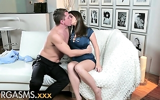 Orgasms young shadowy temptress craves blarney deep median will not hear of shaved fur pie