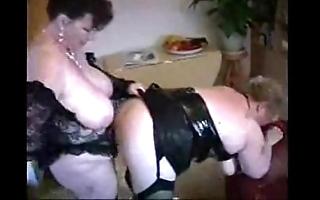 2 big matured housewives having fun