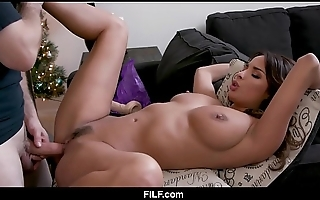 Stepmom anissa kate chritsmas fuck with stepson - filf