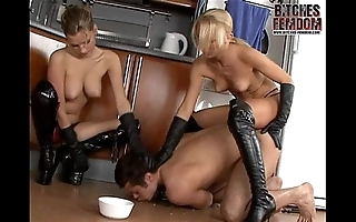 Lint lera increased by mistress tanya enter their muddied attendant