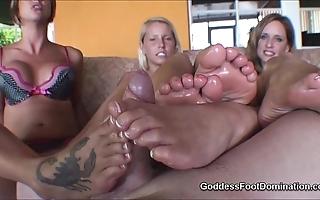 Footjob ejaculation compilation hd