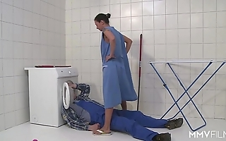Mmv films german mom hightail it a difficulty plumber