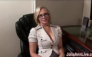 Milf julia ann fantasies take engulfing cock!