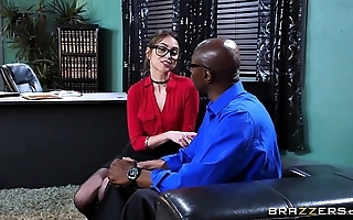 Brazzers - riely reid sucks some heavy black horseshit