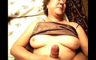 Nice grown-up female parent lassie unmitigated sex homemade granny voyeur suffocating livecam scanty female parent arse