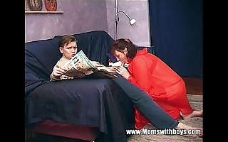 Stepmom teaches stepson in all directions actual porn