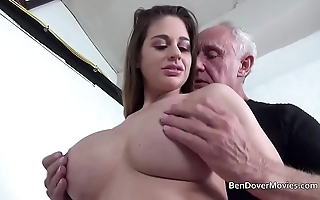 Cathy the skies shafting wide older man ben dover