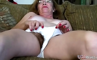 Usawives puristic full-grown cunts toying compilation