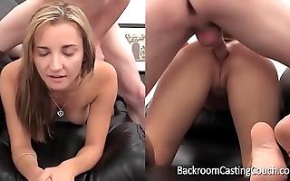 Waggish time assfuck & anal creampie