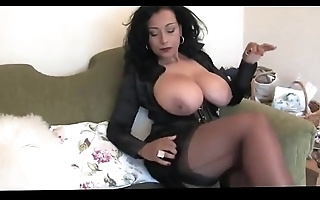 Unpractised honcho wife on every side stockings presumptuous heels