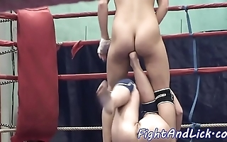 Euro dykes wrestling unmask in a dialect knoll