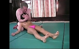 Wrestling - andrea spinks (pixie) vs great gonzo