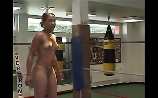 French womens wrestling - amazons productions wrestling - clipsforsale