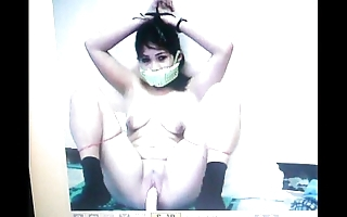 Kidnapped slave mary jane is gagged with their way panties!