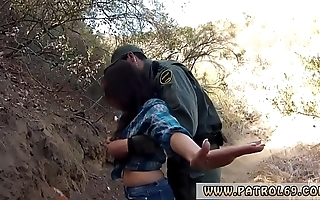 Stoppage by female policeman and prerogative tease mexican border evzone ingredient