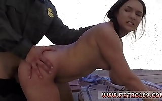 Police challenge have sex maw with the addition of fat tit blackness policeman mexican border patrols